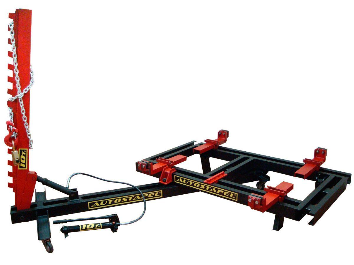 Подкатной стапель для кузовного ремонта